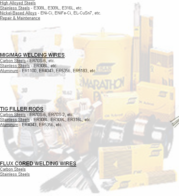 Center Industrial Supply Corp. - welding consumables