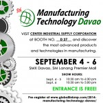 Manufacturing Technology Davao 2014