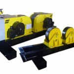 CD-30/60/100/120-DB and CI-30/60/100/120-DB Conventional Roller Beds with rail bogie