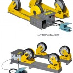 LLR-500P / LLR-500I and LLR-3000P / LLR-3000I Conventional roller beds for small workpieces